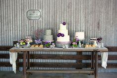 Purple Handmade California Wedding