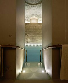 Four Seasons   Spa Interior Design by Patricia Urquiola four seasons luxurios pool