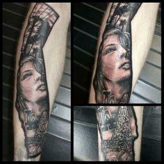 7 Best Portrait Tattoo work images | Portrait tattoos, Diana, Artist