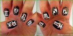 Zodiac Nails