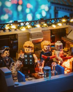 Lego Custom Minifigures, Lego Minifigs, Marvel And Dc Superheroes, Lego Marvel, Lego Pictures, All Lego, Lego Room, Lego Photography, Lego Design