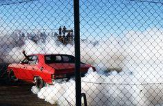 """Car Burnouts Photography"" by Australian Photographer Simon Davidson"