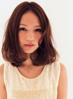 やわらかミディアム 【Matirde】 http://beautynavi.woman.excite.co.jp/salon/26150?pint ≪ミディアム・ヘアスタイル・medium・hairstyle・髪形・髪型≫