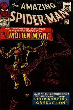 1965 Alley Award - Best Adventure Hero Comic Book: The Amazing Spider-Man (Marvel) (1963 series)