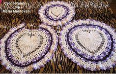 Crochetando com Maria Mantovani:     Clique e CURTA:Crochetando com Maria…