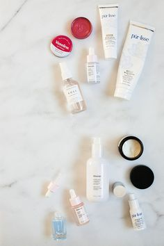 My morning and evening skincare routine. Beauty report, my favorite skincare products for anti-aging, moisturizing, and improving blemishes. More on Jojotastic.com
