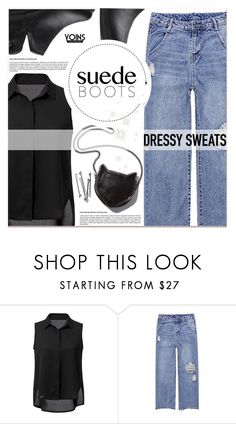"""""""Yoins"""" by lucky-1990 ❤ liked on Polyvore featuring STELLA McCARTNEY and BOBBY"""