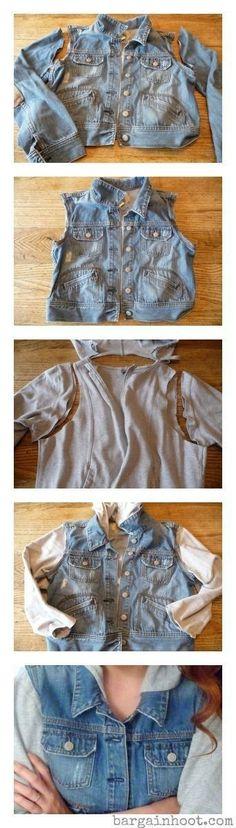 12 Kreative Möglichkeiten, wie Sie Ihre alte Kleidung umgestalten und wiederverwenden können… Heute werde ich # 7 ausprobieren!