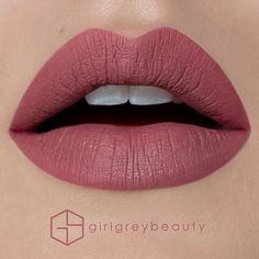 'Dusty Rose' Liquid Lipstick from @AnastasiaBeverlyHills. Colour applied with the lipstick applicator and lines perfected with the @smithcosmetics # 302 Lip Brush