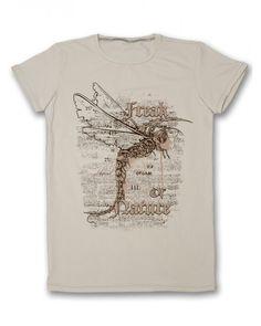 Бежова мъжка тениска с щампа - Freak of nature  #тениска #тениски #мъжкатениска #дънки #фешън #лято #лято2015 #колекция2015 #тенискиспринт