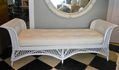 antique wicker daybeds | Wicker Day Bed image 2