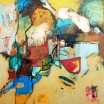 Arthur Bernard  absolutearts.com Afternoon in Andalusia 120x120cm