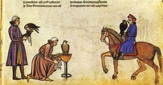 mediumaevum:  The first evidence of Falconry in Europe comes from the sixth century when the Germanic tribes took up the sport, and by 875 AD it was practised widely through ...