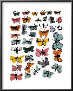 "Andy Warhol's ""Butterflies,"" 1955"