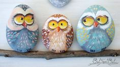 Unique Handmade 'Home Sweet Home' Owls Family by owlsweetowl