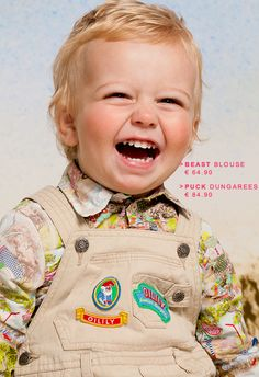 Cutest little boy, wearing Oilily outfit
