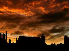 "Didier Cordy, ""Flamboyant daybreak sky ..."" on ArtStack #didier-cordy #art"