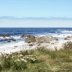 Carmel By The Sea Beach Photograph Ocean Art Landscape