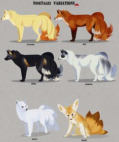 Geekly » » 6 Beautiful NineTales Variations