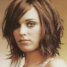 This is a CUTE hairstyle #hair #dec17 #mediumcut