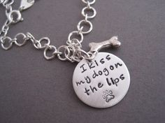 I Kiss My Dog on the Lips, Charm Bracelet