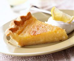 Triple Lemon Pie from Midwestliving.com