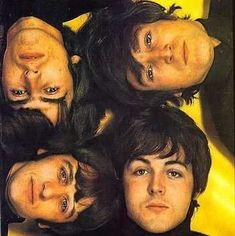 Beatles, L-R top, George,John,bottom,L-R, Ringo<Paul