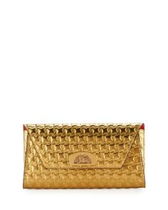 Vero+Houndstooth-Embossed+Clutch+Bag+by+Christian+Louboutin (=)