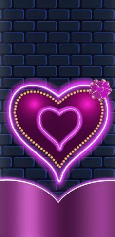 Pretty Phone Wallpaper, Iphone Wallpaper Glitter, Heart Wallpaper, Purple Wallpaper, Love Wallpaper, Cellphone Wallpaper, Nature Wallpaper, Cool Backgrounds, Wallpaper Backgrounds