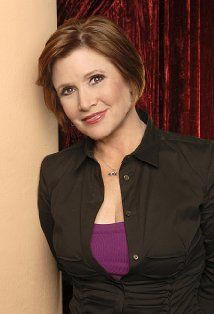 Carrie Fisher;  an American actress, novelist, screenwriter, and performance artist. She is best known for her portrayal of Princess Leia in the Star Wars films. She is also known for her bestselling novels, Postcards from the Edge and screenplay for a film of the same name; her autobiographical play and book, Wishful Drinking, and the non-fiction book, .My Life With Bipolar Disorder And My Passionate Journey Towards Kissing Stigma Goodbye!