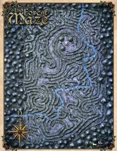 Map of the Forest Maze