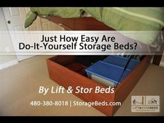 Just How Easy Are Do-It-Yourself Storage Beds From Lift & Stor Beds? - YouTube