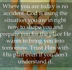 Amen! Thank you God! I may not understand why but I know You always have a reason and always know best. Thank you for all the good and thank you for all the hard times too. May they lead me closer to you and help me raise my children to trust You more.