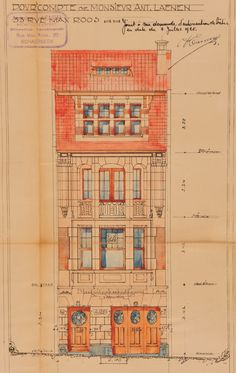 Schaerbeek - Avenue Huart Hamoir 25 - LAENEN Antoine