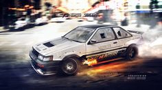 Speedhunters Need for speed tribute Ae86 coupe by yasiddesign on DeviantArt