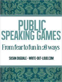 Aktivitäten zum Sprechen vor Gruppen