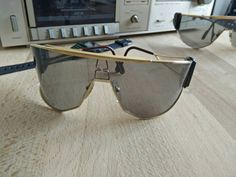 a0ad95240a49 1989 Dbmg ALPINA GOLDWING made in West Germany sunglasses with Alpina case