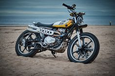 Kawasaki KZ440 Scrambler by Psycho Chopps