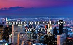New York City... Yeah! The City of Dreams