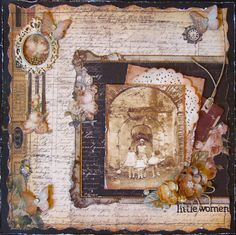 Little Women - Prima - Time Travelers Memories Collection