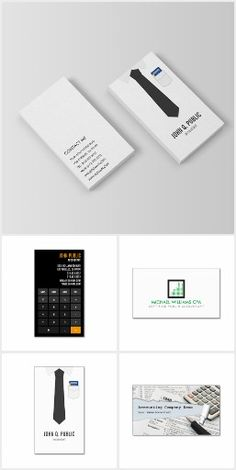 Retro calculator business cards for accountants bookkeepers accountant business cards collection businesscards design templates designed by j32 design reheart Images