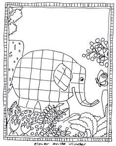 33 Beste Afbeeldingen Van Thema Elmer Elephants Preschool En