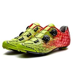 Santic Alpha Yellow Men Road Cycling Shoes – Santicireland.ie