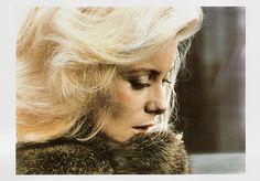 Happy birthday, Catherine Deneuve! French postcard by Editions La Malibran, Paris, no. MC 18.