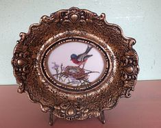 Shops, Antique Gold, Needlepoint, Vintage Items, Decorative Plates, Germany, Wall Decor, Tapestry, Etsy Shop