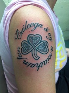 Until We Meet Again Celtic Cross Tattoo In Loving