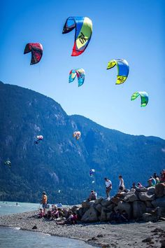Squamish Wind Festival in #Vancouver by Nicolas Hesson