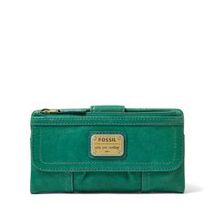 Fossil Emory Zip Clutch| FOSSIL® Wallets