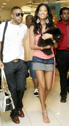 Kimora Lee Simmons and pomeranian: luxpoms Vanessa Simmons, Angela Simmons, Bad Fashion, 2000s Fashion, Star Jones, Celebrity Dogs, Kimora Lee Simmons, Best Fashion Designers, Baby Phat