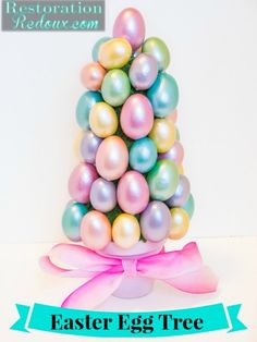 Easter Egg Tree DIY #yearofcelebrations